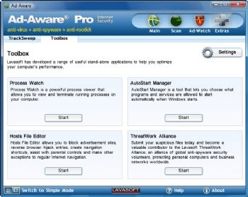 Ad-Aware Pro screenshot