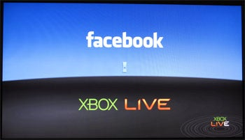 Facebook Launch Screen, Xbox 360