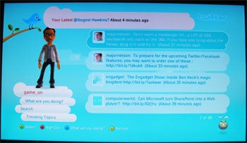 Twitter for Xbox 360