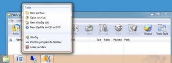 WinZip 14 Standard screenshot