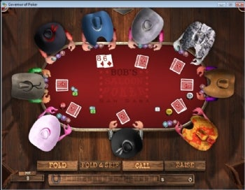 Governor of Poker 2. You can play the small version of this game completely