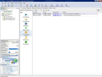 Capsa Network Analyzer screenshot