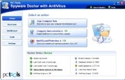 Spyware Doctor with Antivirus; click for full-size image.