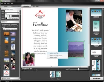 Design your business printing with quark promotefor free pcworld quark promote screenshot reheart Image collections