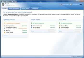 TuneUp Utilities 2010 screenshot