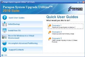 Paragon System Upgrade Utilities