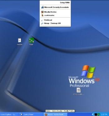 RUNit screenshot