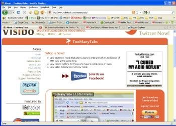 TooManyTabs screenshot