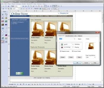 SiteSpinner Standard screenshot