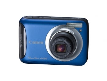 Canon PowerShot A495 point-and-shoot camera