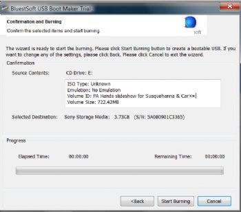 USB Boot Maker screenshot