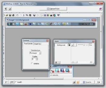 MiniCap screenshot