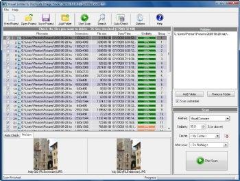 Visual Similarity Duplicate Image Finder screenshot