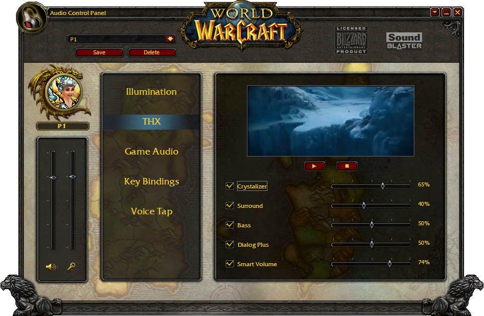 Sound Blaster World of Warcraft Wireless Headset: Not Just