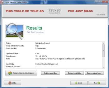 Photo Vacuum Packer screenshot