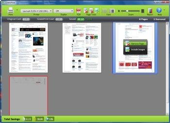 GreenPrint Home Premium screenshot