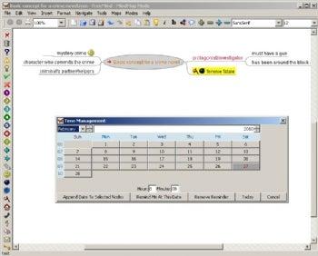 FreeMind screenshot