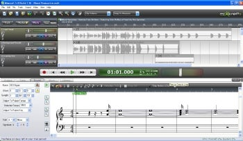 Mixcraft 5 screenshot