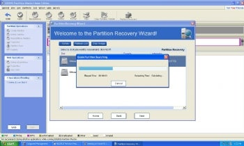 Easeus Partition Master Home screenshot