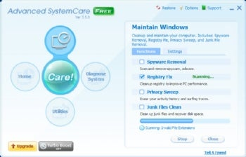 Advanced SystemCare Free screenshot