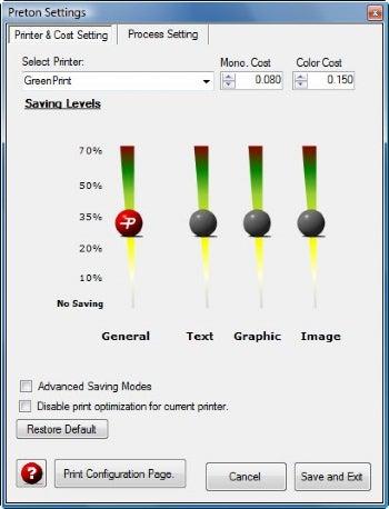 PretonSaver Home Edition screenshot