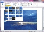 Word 2010 image-editing tools