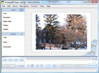 SolveigMM Video Splitter screenshot