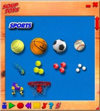SoupToys Toybox screenshot