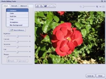 ArcSoft PhotoImpression Gold screenshot