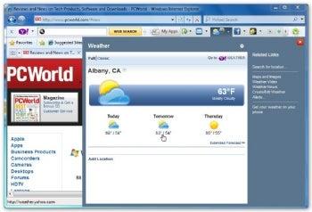 Yahoo Toolbar screenshot