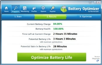 Battery Optimizer screenshot