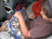 Ryan testing the V.Reader