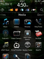 BlackBerry 6 OS apps