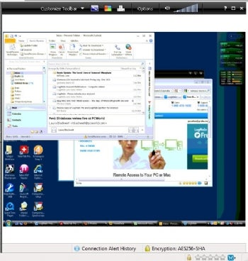 LogMeIn Free screenshot
