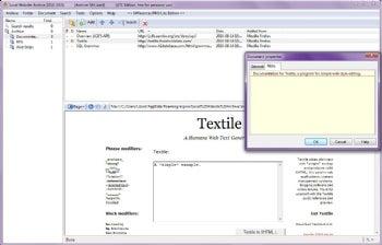 Local Website Archive Lite screenshot