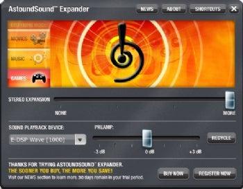 AstoundSound Expander screenshot
