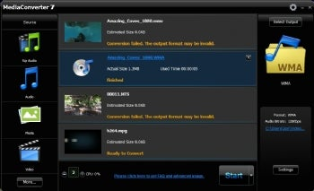ArcSoft MediaConverter 7 screenshot