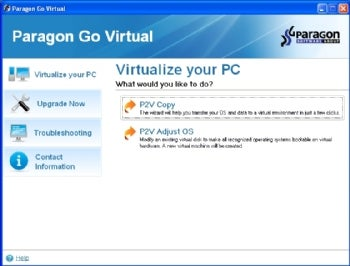 Paragon Go Virtual screenshot