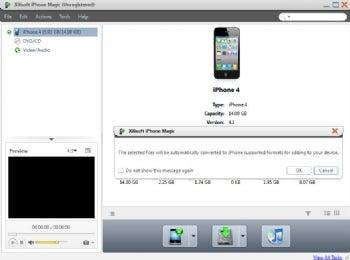 Xilisoft iPhone Magic screenshot