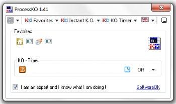ProcessKO screenshot