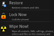 WaveSecure Mobile Security Android security app