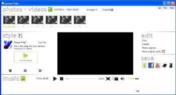 muvee Pixie screenshot