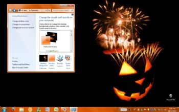 Halloween Theme screenshot