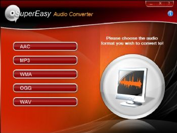 SuperEasy Audio Converter screenshot