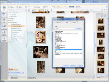 Kodak EasyShare software screenshot