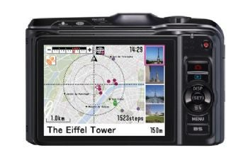 Casio Exilim EX-H20G GPS functionality
