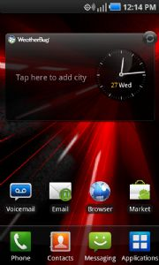 Samsung Touch Wiz